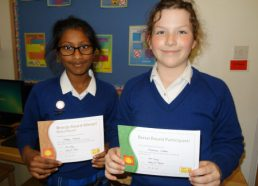 Success at the Primary Maths Challenge