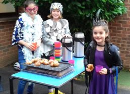 Bikers' Breakfast on Book Character Day