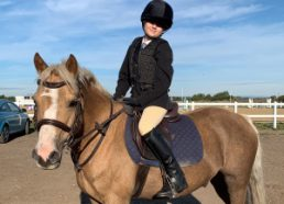 Equestrian success for Ellie!