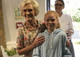 Designing a cake for Mary Berry
