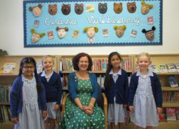 An inspiring visit from Clara Vulliamy