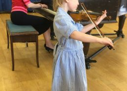 Zoe is our youngest ever performer at a Teatime Concert