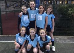 A well-deserved netball victory
