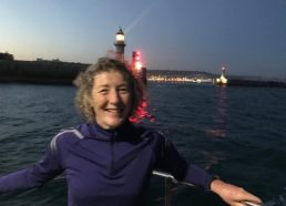 A cross Channel swim for Mrs McAlister