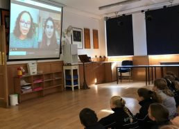 Meeting children's author, Katherine Rundell