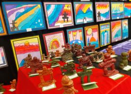 A beautiful and sustainable Art Exhibition