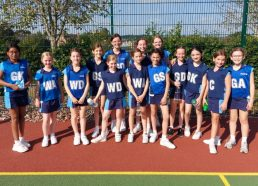 A busy start to the netball season